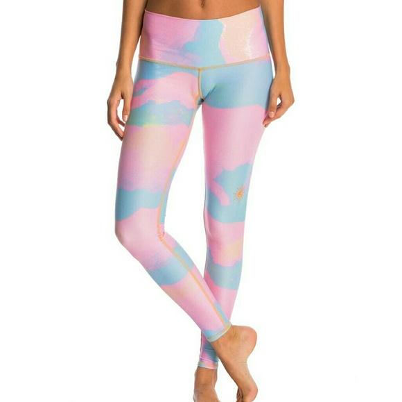 4e86418734 teeki Pants   Nwt New Moon Rainbow Yoga Leggings   Poshmark